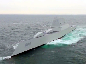 USS Michael Monsoor, deneme seferinde arızalandı