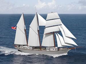 Sailcargo, sıfır emisyonlu yelkenlisini Kosta Rika'da inşa ediyor