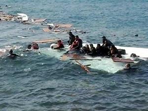 150 mülteciyi taşıyan tekne, Kıbrıs açıklarında battı!