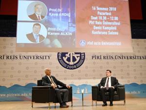 """""""Türkiye ekonomisi ve 15 temmuz"""" konferansı PRÜ'de yapıldı"""