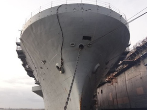 USS TRIPOLI, son seferini Teksas'a yaptı
