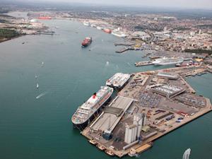 Southampton Limanı'na yeni bir araç terminali inşa ediliyor