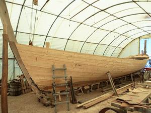 Çivisiz Fenike teknesiyle boğaz macerası yaşanıyor