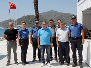 Göcek Deniz Hudut Kapısı hizmete açıldı