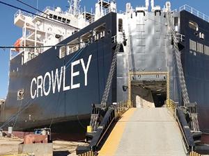 Crowley, M/V EL COQUI'yi teslim aldı