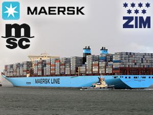 Maersk ve MSC, İsrailli ZIM ile işbirliği yapıyor