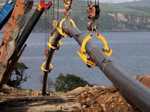 Türk Akımı'nda kıyı geçişi çalışmaları başladı