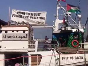 5'inci Özgürlük Filosu Gazze'ye doğru yelken açtı