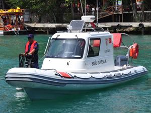 Manavgat Irmağı'nda iki sahil güvenlik botu hizmete alındı
