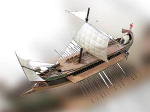 Fenike dönemine ait gemi Boğazlardan geçecek