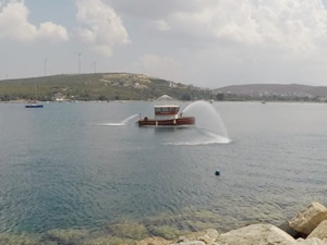 Teos Marina'da ISPS Kod Tatbikatı yapıldı