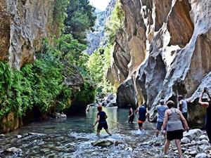 Saklı cennet 'Kisecik Kanyonu' keşfedilmeyi bekliyor