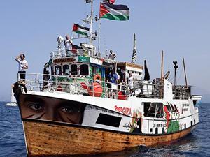 İsrail deniz kuvvetlerinden Özgürlük Filosu'na müdahale!
