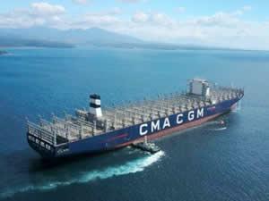 22 bin TEU'luk konteyner gemisinin inşasına başlandı