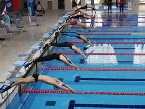 20. Avrupa Paletli Yüzme Şampiyonası'nda ödüller verildi