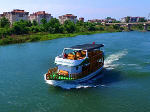 Yeşilırmak'ta tekne ile gezi turları başlıyor
