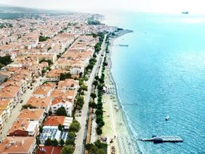 Mavi bayraklı sahiller bölge ekonomisini canlandırdı