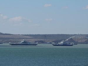 Rusya, Kerç Boğazı'nda 62 gemiyi alıkoydu