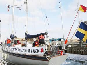 İsrail, Gazze'ye giden tekneye müdahale etti