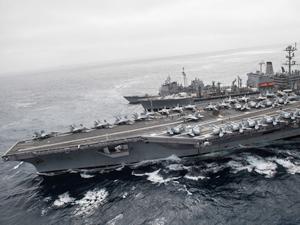 ABD Donanması, savaş hazırlıklarına başladı