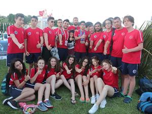 20. Avrupa Gençler Paletli Yüzme Şampiyonası'nda Türkiye ikinci oldu