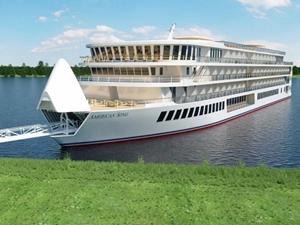 ABD'nin ilk modern nehir gemisinin inşası bitiyor