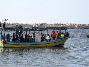 3. Özgürlük Gemisi, Gazze Limanı'ndan yola çıktı