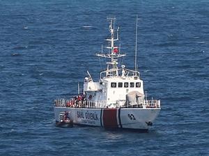 Denizde kaybolan çocuğu arama çalışmaları devam ediyor