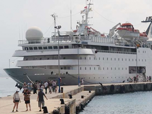 M/S Orient Queen, Alanya'dan demir aldı