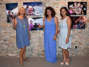'Barışa Yelken' isimli sergi, Bodrum'da kapılarını açtı