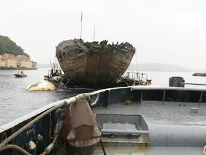 Norveçli kaşif Amundsen'in batık gemisi 'Maud' evine döndü