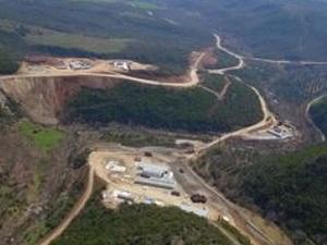 Gölecik Barajı'nda çalışmalara yeniden başlandı