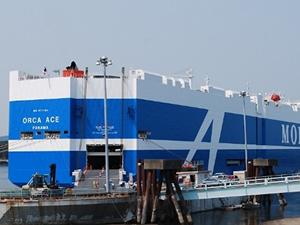 'M/V ORCA ACE' ilk seferini Vancouver Limanı'na yaptı
