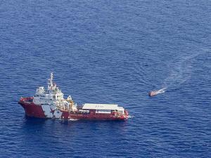 20 ton esrar taşıyan gemiye Akdeniz'de operasyon!