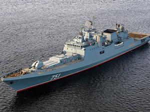 Rus fırkateyni ABD denizaltısını takip etti