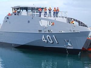 Austal Tersanesi, Pasifik Devriye Botu'nun deniz testlerine başladı