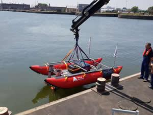 Antwerp Limanı, otonom sondaj botunu tanıttı
