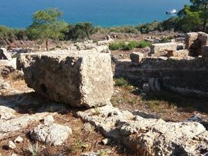 3 bin yıllık tersanede 14 çekek yeri bulundu