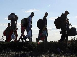 Midilli Adası'na geçmeye hazırlanan göçmenler yakalandı