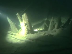 Kırım derinliklerinde Roma gemisi kalıntıları bulundu