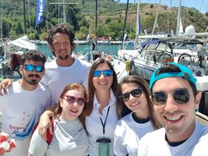 Pfizer Yelken Takımı, 'Meme Kanseri' farkındalığı için yelken açtı