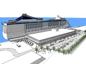 Quebec Limanı'na ikinci kruvaziyer terminali yapılıyor