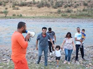 Botan Çayı'nda boğulmalara karşı tedbir alınıyor
