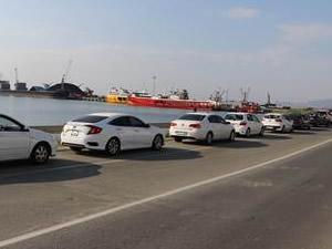 Tekirdağ Limanı'nda tatil yoğunluğu yaşanıyor
