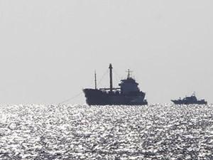 Sierra Leone'de yasa dışı avcılık yapan gemi yakalandı