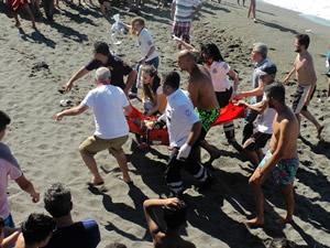 Düzce'de 256 boğulma vakasına müdahale edildi