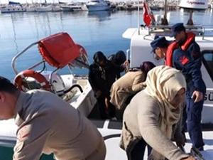 Antalya'da 26 kaçak göçmen yakalandı