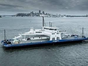 Davie, LNG yakıtlı feribotu teslim etti