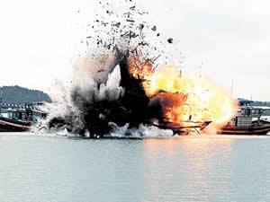 Yasa dışı avlanan 125 tekne batırıldı