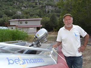 Kutup Kahramanı Erkan Görsoy, özel bot tasarladı